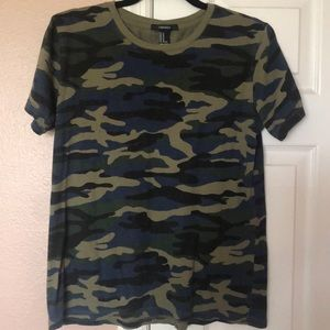 Forever 21 Camo Tee